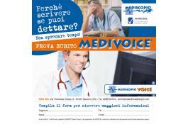 Software di Medicina del Lavoro con inserimento vocale MEDIVOICE