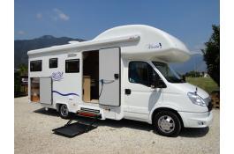 Produzione camper accessibili per disabili