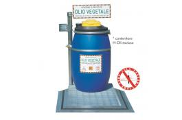 Non-slip platform for collecting stations Oil Only 200