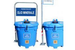 Stazione per raccolta differenziata olio minerale usato Olivia 500