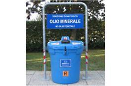 Stazione di raccolta olio minerale esausto Olivia 200 minerale