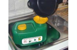 Tanica per olio di frittura esausto Ecohouse Light