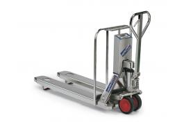 Pallet truck scale, stainless steel Weighing Simplex