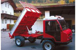 Cassoni ribaltabili per transporter