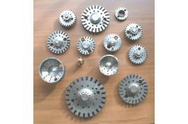 Teste di combustione per industria ceramica