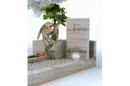 Produzione tombe in marmo naturale