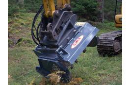 Testate trincianti per bonifiche forestali
