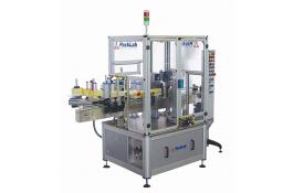 Self adhesive labeling machine for cylindrical containers Spinner