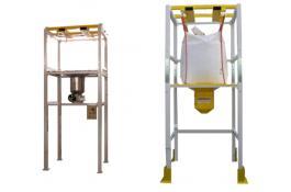 Stazioni di svuotamento e riempimento big bag e octabins