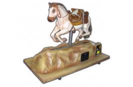 Cavallino tour elettromeccanico in vetroresina