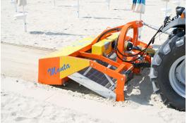 Machine clean beach and shoreline cleaning Manta