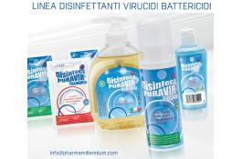 Linea disinfettanti battericidi e virucidi - biocidi