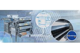 3-way sorter for the food industry Extrasorter 3W