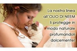 Shampoo professionali per gatti all'olio di neem