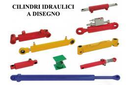 Cilindri idraulici a disegno per agricoltura