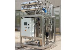 Macchine per produzione acqua distillata: distillatori multieffetto M-REM