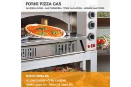 Forno professionale alimentazione a gas per gastronomia Linea RG