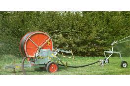 Macchina irrigatrice con ala nebulizzatrice