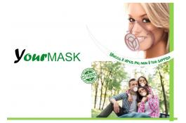 Transparent protective mask YourMask
