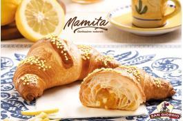 Cornetto al limone a lievitazione naturale Mamita
