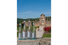 Mineral water in glass Fonte de 'Medici