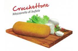 Crocchetta con mozzarella di bufala