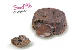 Soufflè al cioccolato surgelato