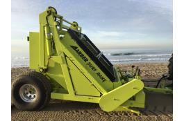 Trailed beach cleaning machine H. Barber Surf Rake 600HD