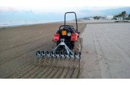 Rastrello per pulizia spiagge Rake