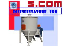 Centrifugal disinfectant for cereals SDR