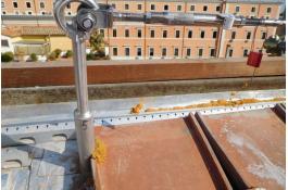 Palo di sicurezza per coperture a bassa resistenza strutturale PBS