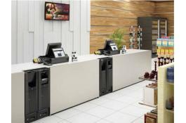 Soluzione cash management per farmacia Glory Cash Infinity