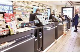 Soluzione cash management per farmacia Glory Cash Infinity