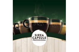 Soluble drinks in compatible capsules Sirea Professional