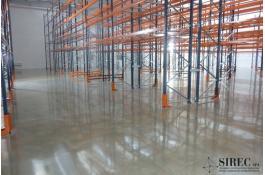 resin floors for intensive warehouses