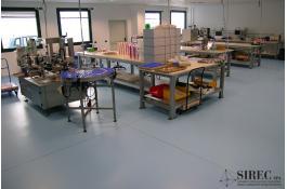 Resin floors for pharmaceutical industries