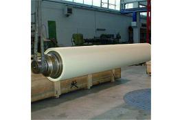 Manicotti per calandratura, guaine e parti meccaniche per settore tessile