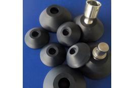 Piedi stabilizzatori, pulegge e pattini per attrezzature sollevamento