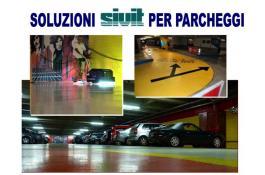 Pavimenti in resina per parcheggi Milano