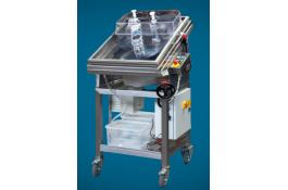 Sharpening machines for professional and industrial blades