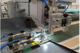 Cucitrice lineare per tessuti tecnici SM-100-CA