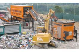 Servizio mobile per trattamento rifiuti urbani e speciali
