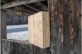 Pareti in legno massiccio senza colla MHM (Massive Holz Mauer)