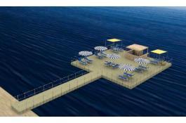 Produzione cubi galleggianti