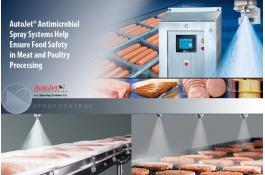Sistemi di spruzzatura AutoJet® per la sicurezza degli alimenti