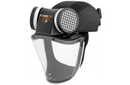 Casco ventilato protezione polveri PowerCap Active