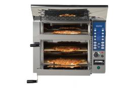 Pizza oven 3 rooms without chimney VP3