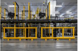Protection systems for production areas and conveyor belts