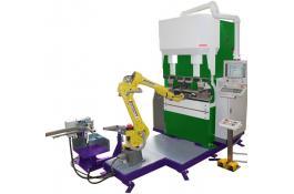 Robot antropomorfo piegatura lamiera STROBOT