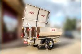 Airtight cover for grape trailers